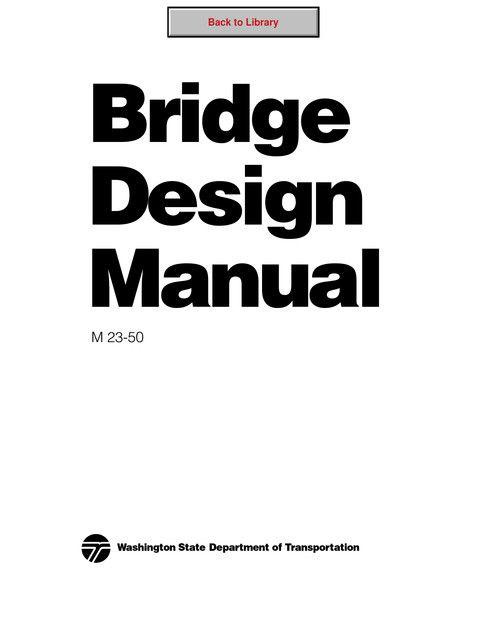Civil Engineering Bridge Engineering - Bridge Design Manual Foto - bridge design engineer sample resume