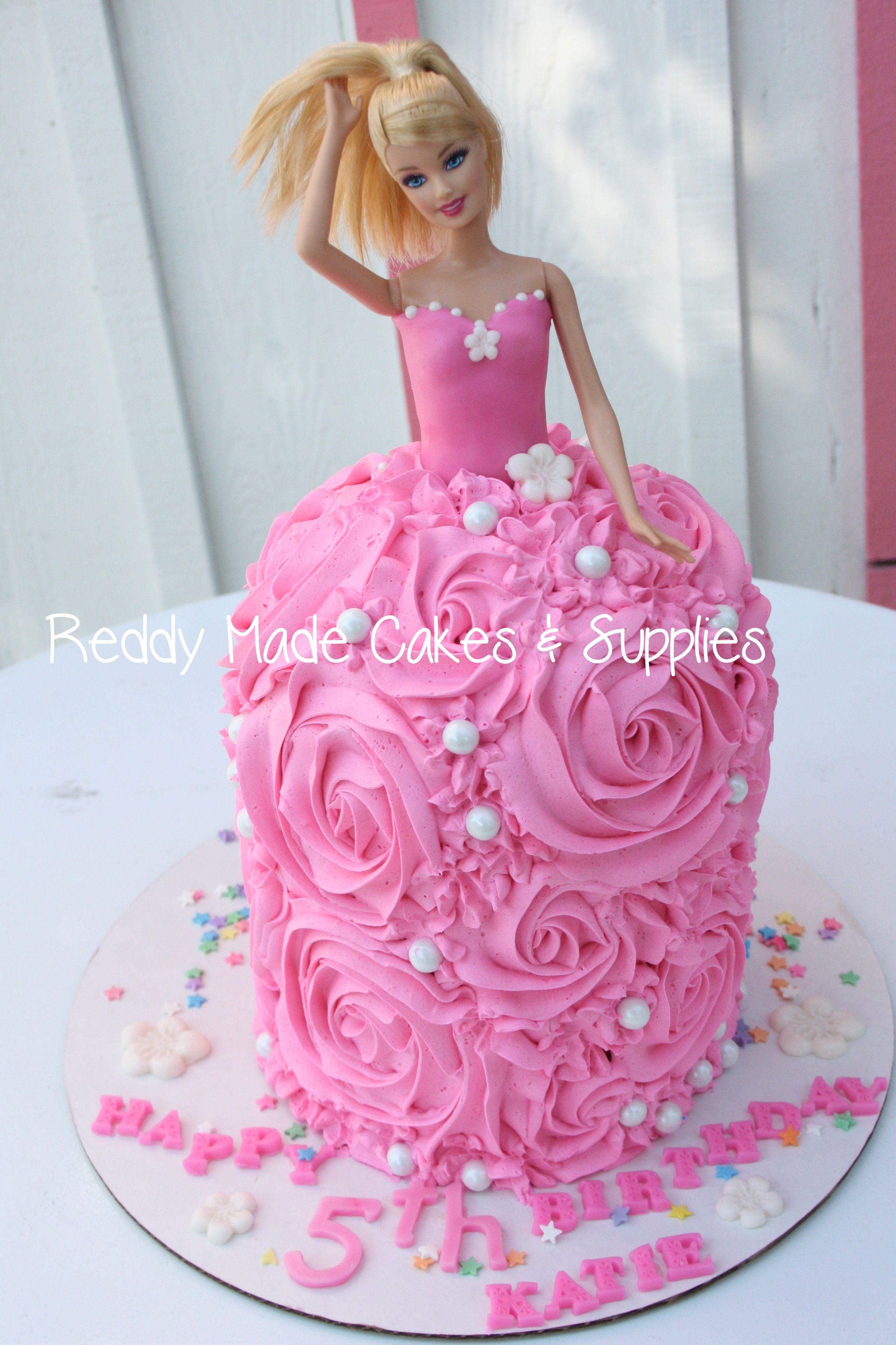 Happy 5th Birthday!!! Barbie cake (2592 x 3888 Pixel)