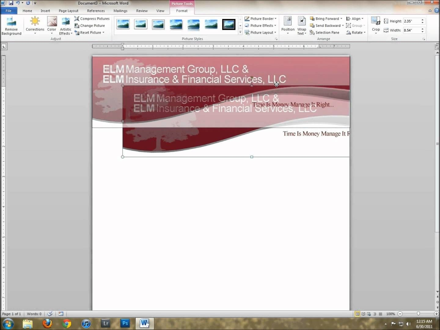 The Excellent How To Create A Letterhead Template In Word Throughout How To Create A Letterhead Template In Letterhead Template Header Design Business Template Make a template in word