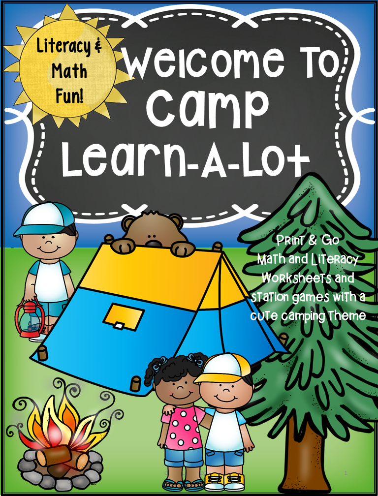Camping Theme Activities - Camping Worksheets | school