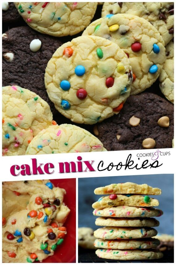 Cake Mix Cookies Are An Easy Cookie Recipe That You Can