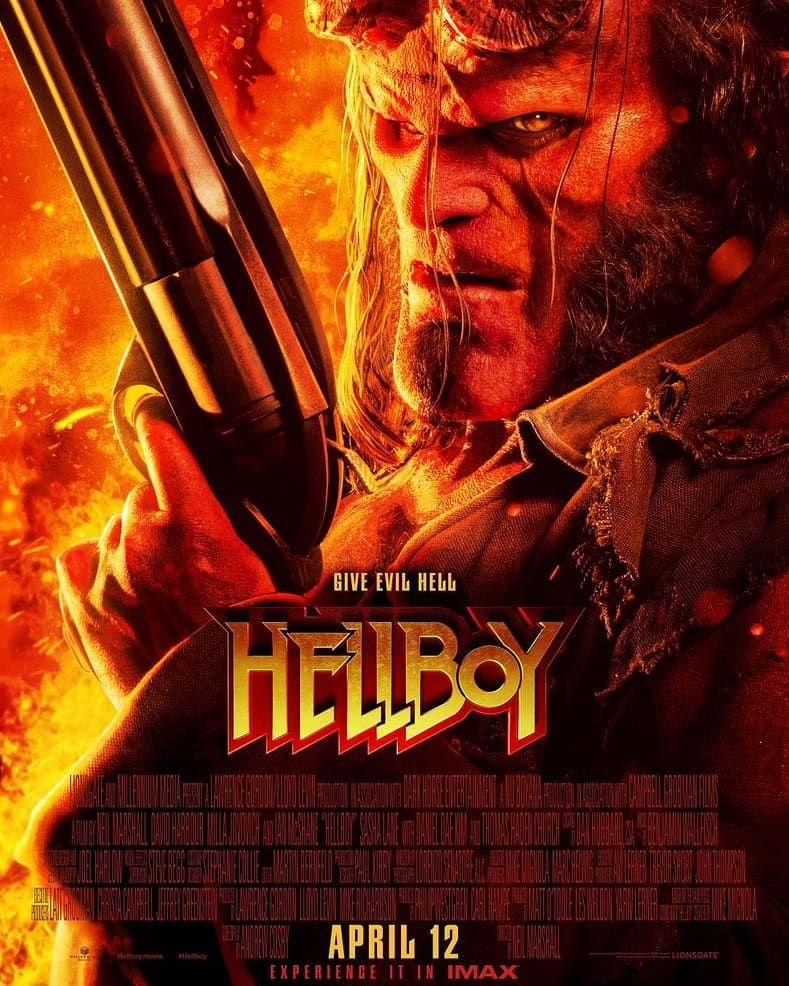 Hellboy2019 Filme Hellboy Filmes De Terror Cartazes De Filmes
