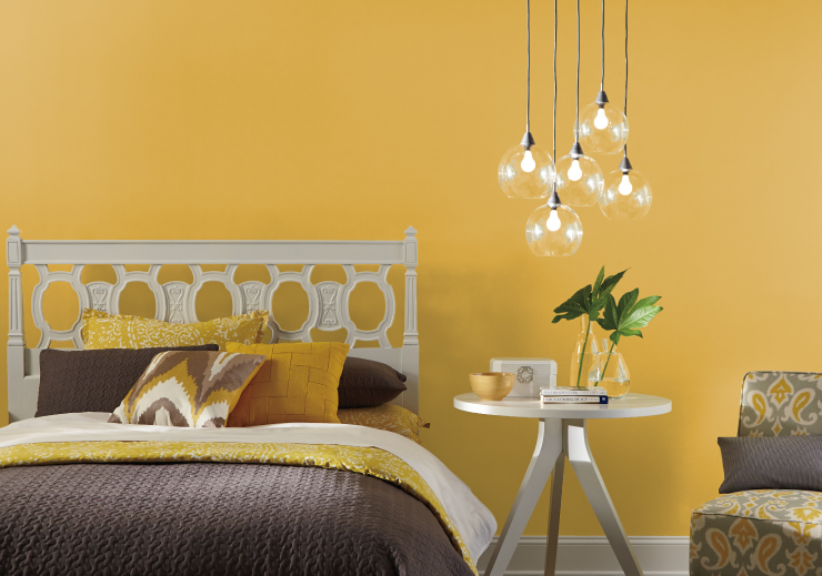 Color of the Month English Daisy Colorfully BEHR in