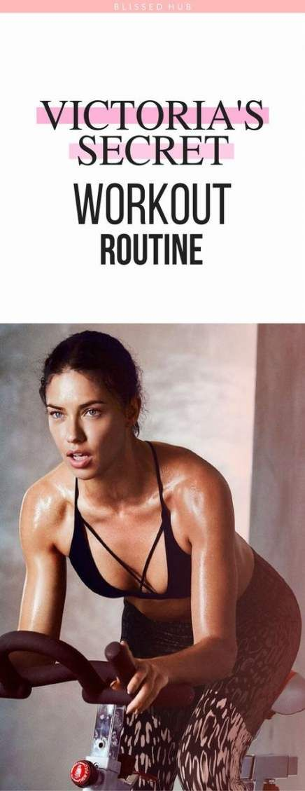 Fitness Model Plan Victoria Secret 48 Ideas #fitness