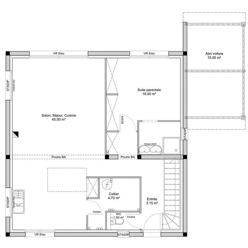 Constructeur De Maisons En Gironde (33) | Claire Demeure | Plan