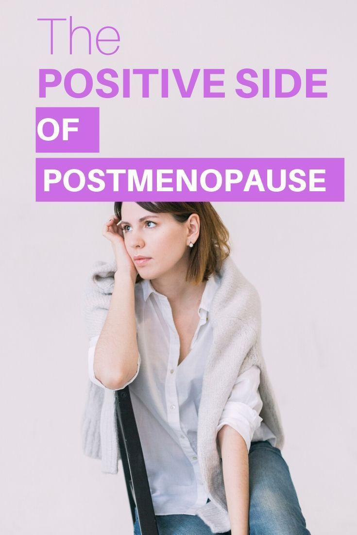 The Positive Side Of Postmenopause