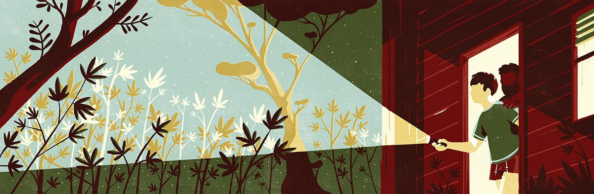 In the grass on Behance
