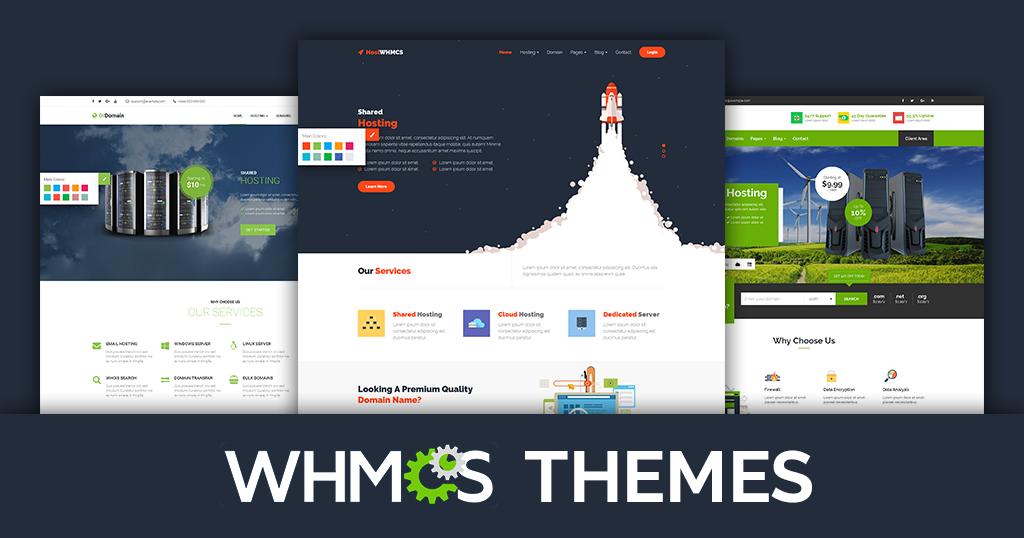 Premium Hosting Website Templates & WordPress WHMCS Themes for Web ...