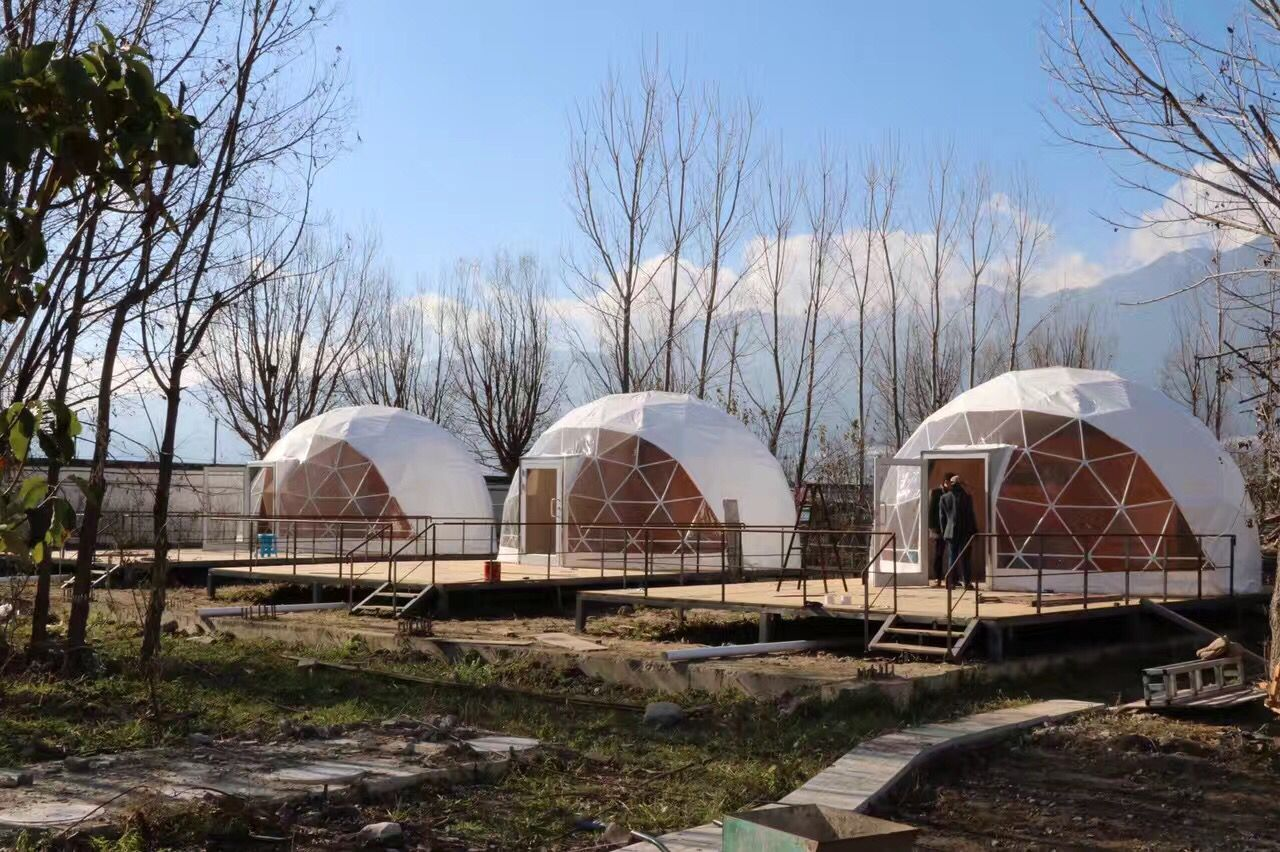 Geo Dome Tent used for Outdoor Campsites | Dome Tent | Dome