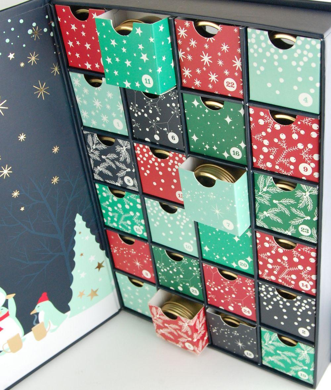 Davidstea 24 Days Of Tea Advent Calendar 2015 2 Kits And Promos