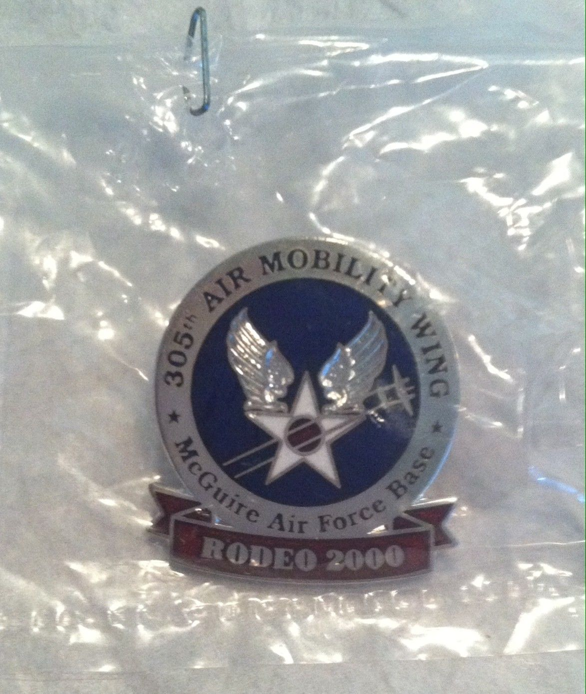 MCGUIRE AFB, NEW JERSEY, 305TH AMW Lapel Hat Pin eBay