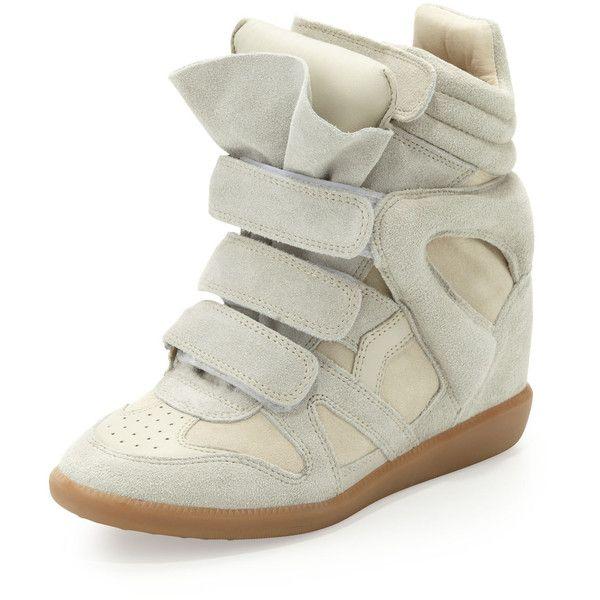 Bekett leather and suede sneakers Isabel Marant Xor50NjRjU