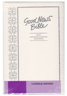 These easy-to-read and understand Good News Bibles come in hardcover. They are packed with features including over 500 Annie Vallotton drawings. The Catholic edition contains the Deuterocanonicals and the Apocrypha.