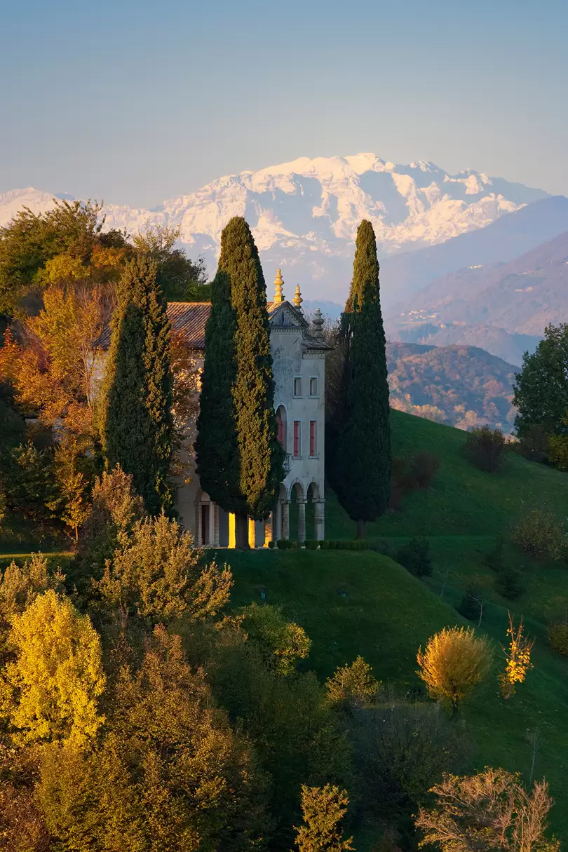Hilltop charm in the Italian town of Asolo