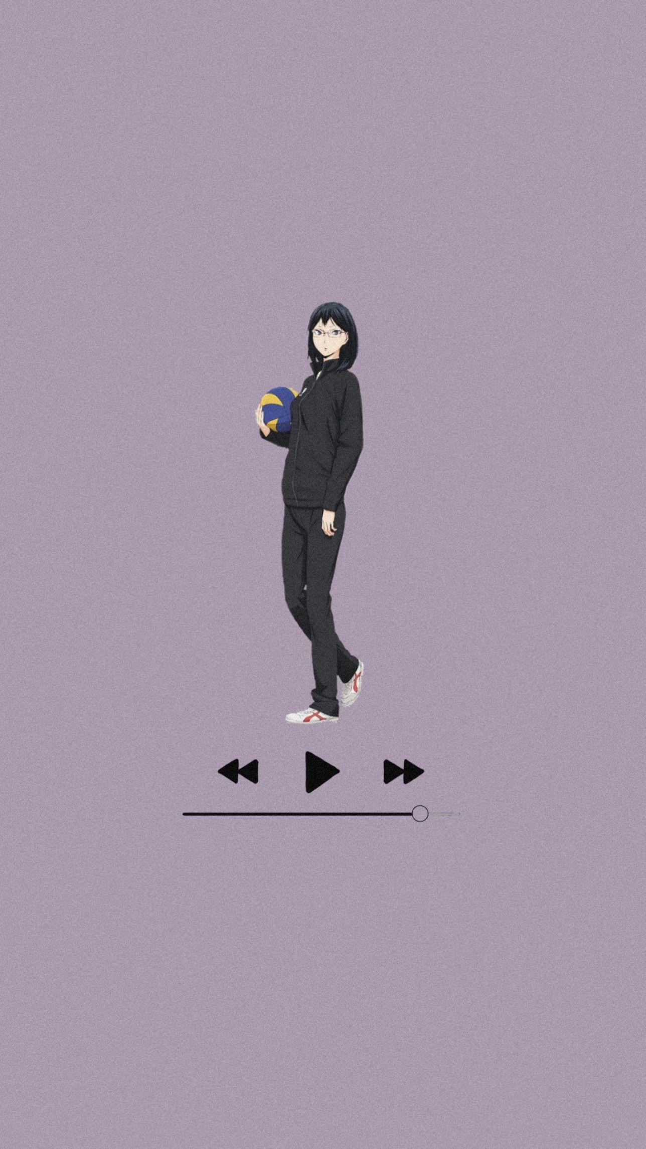 Music Kiyoko Wallpaper Haikyuu Wallpaper Cool Anime Wallpapers Haikyuu Anime Anime music wallpaper mobile