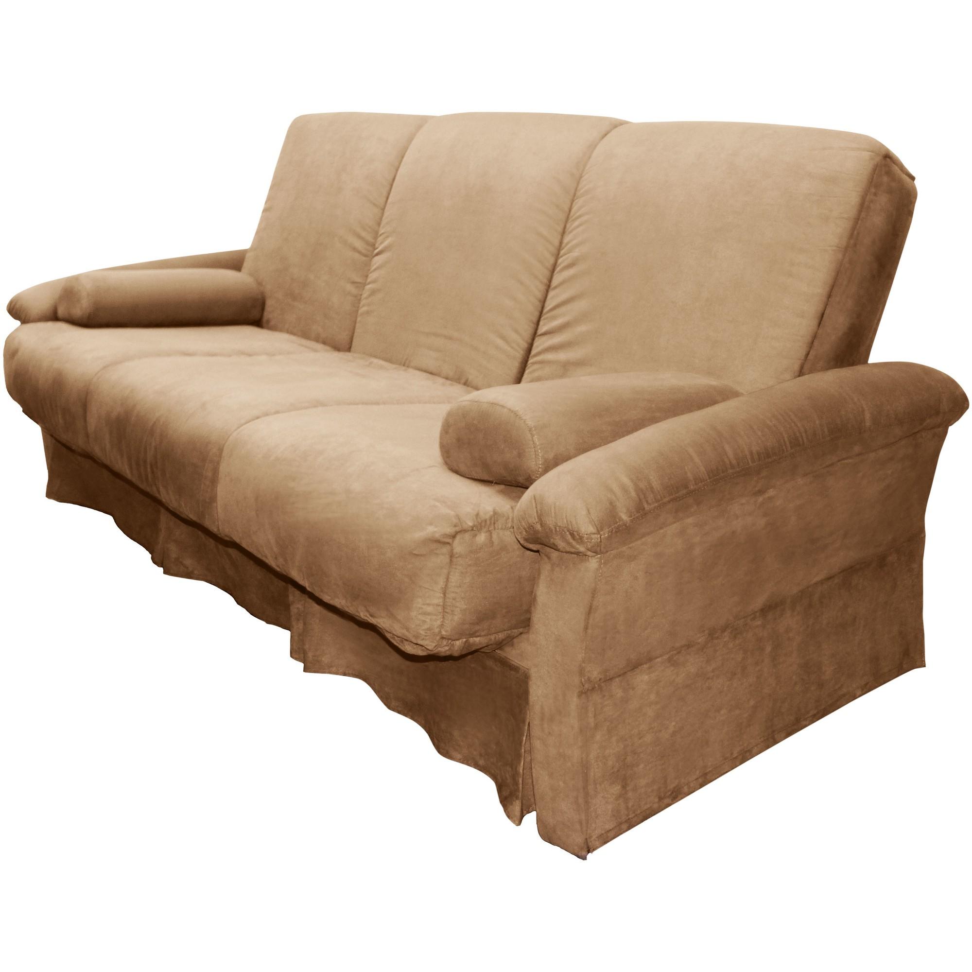 Nirvanna Perfect Futon Sofa Sleeper Khaki (Green