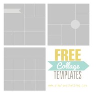 Free Photoshop Collage And Storyboard Templates Free Photo Collage Templates Photo Collage Template Collage Template
