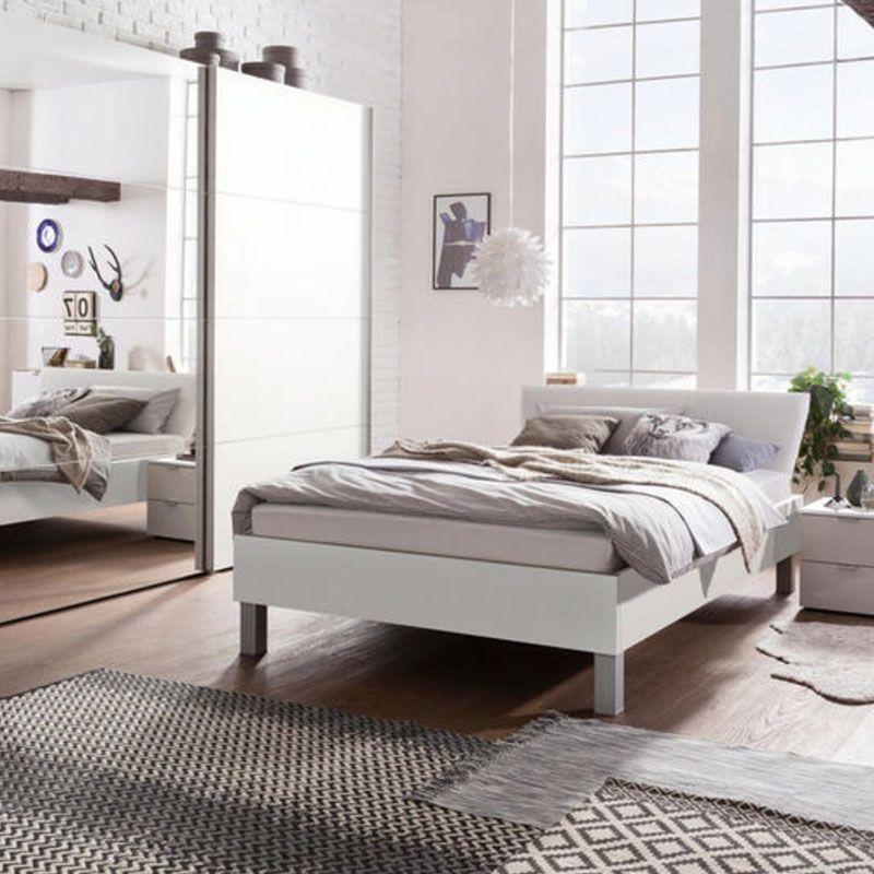 Bett In Weiss Haus Deko Bett Und Einzelbett