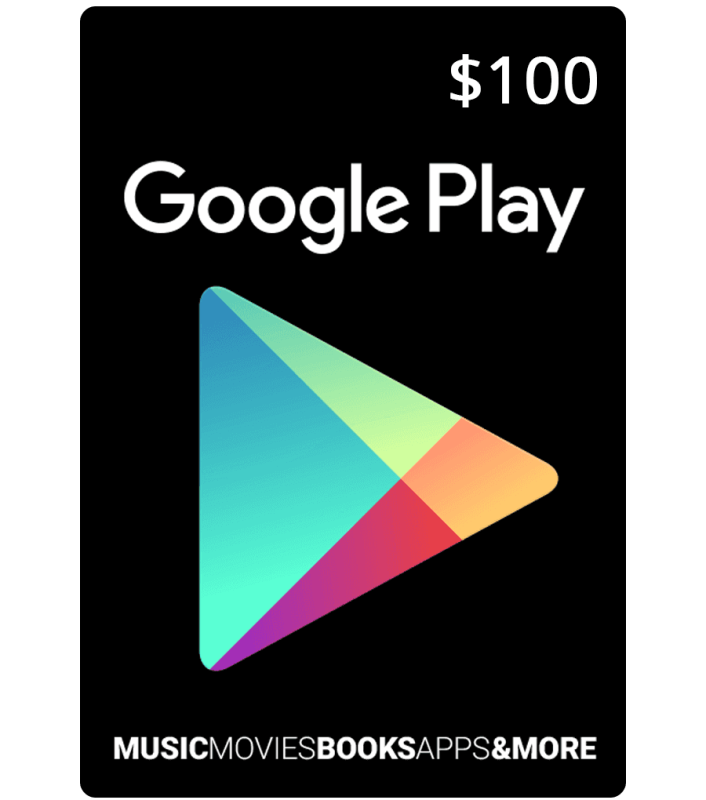 Google Play Card 100 Google Play Gift Card Google Play Codes Itunes Gift Cards