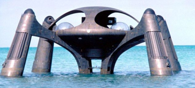 for sale bond villain lair 100 million plus shark