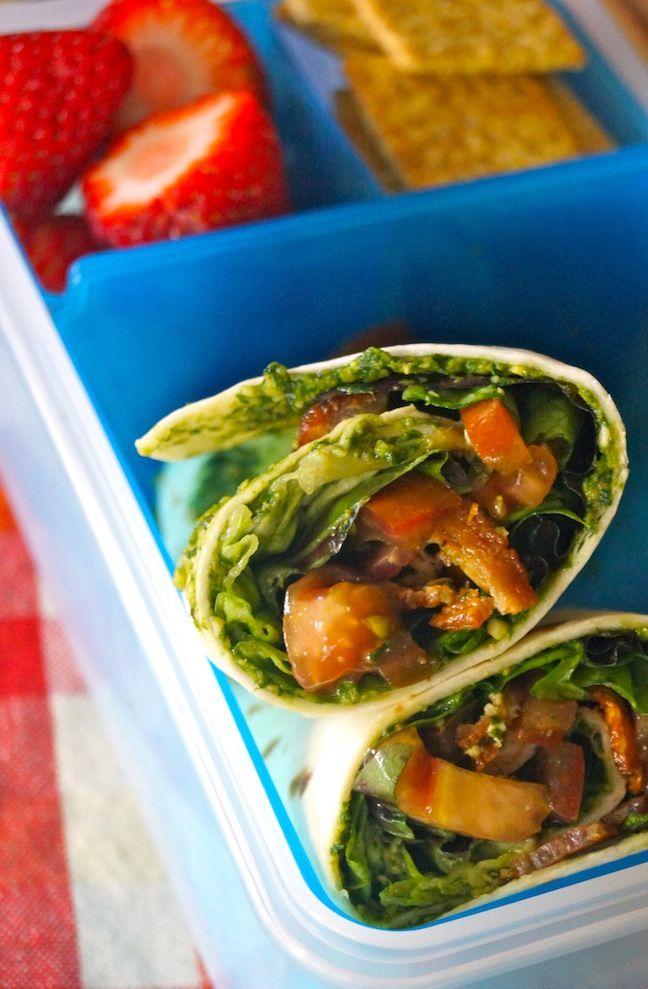 lunch wrap-lunch box container-strawberries-red