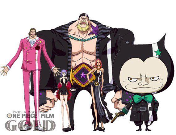 One Piece Film Gold: Revelados Novos Personagens do Longa ~ Novanimes Noticias
