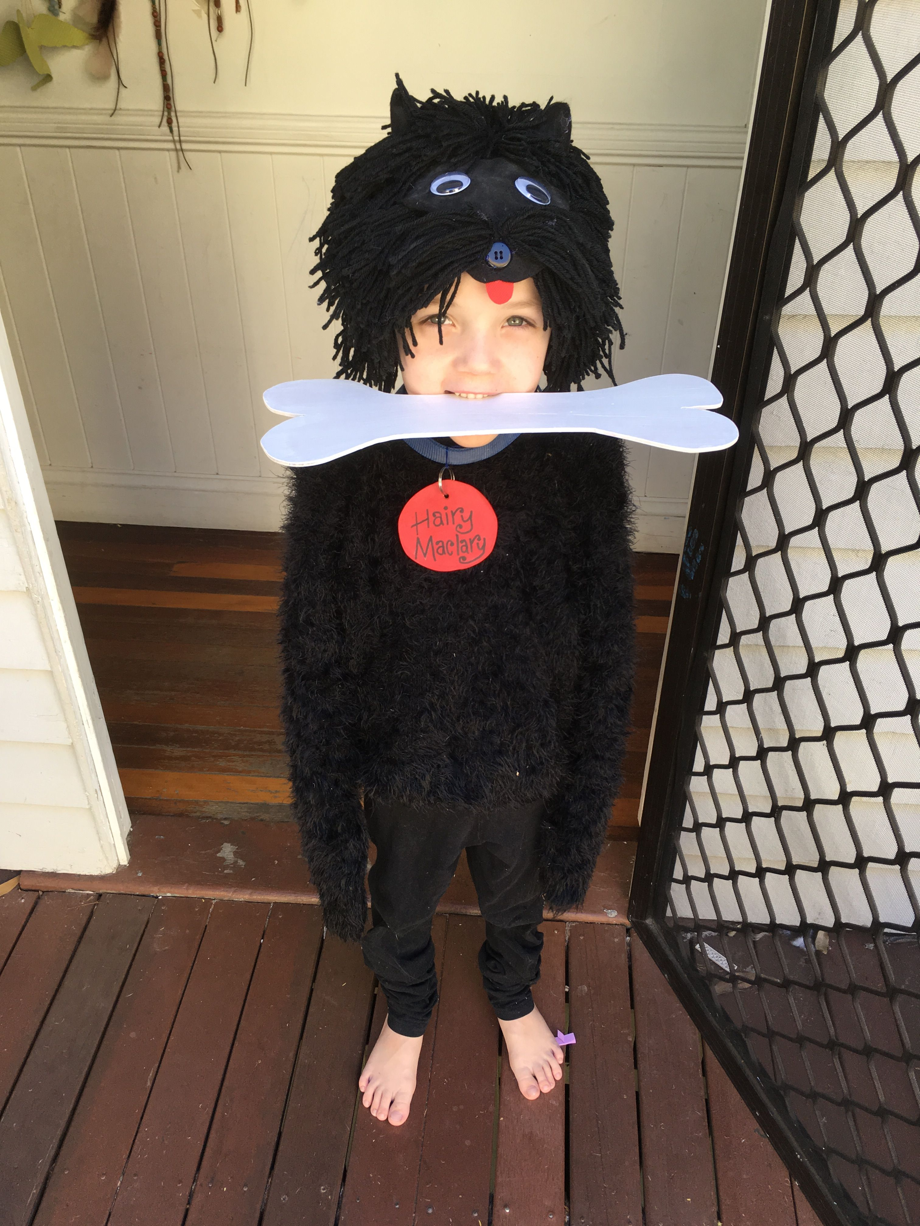 Hairy Maclary Costume For The Book Parade Dress Up Hairymaclary