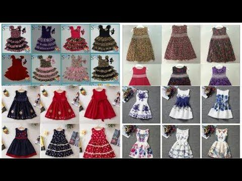 5d7a633072 Top 50 Cotton Frocks Designs For Kids - Simple   Stylish Kids Cotton Dresses  Ideas 2017 - YouTube