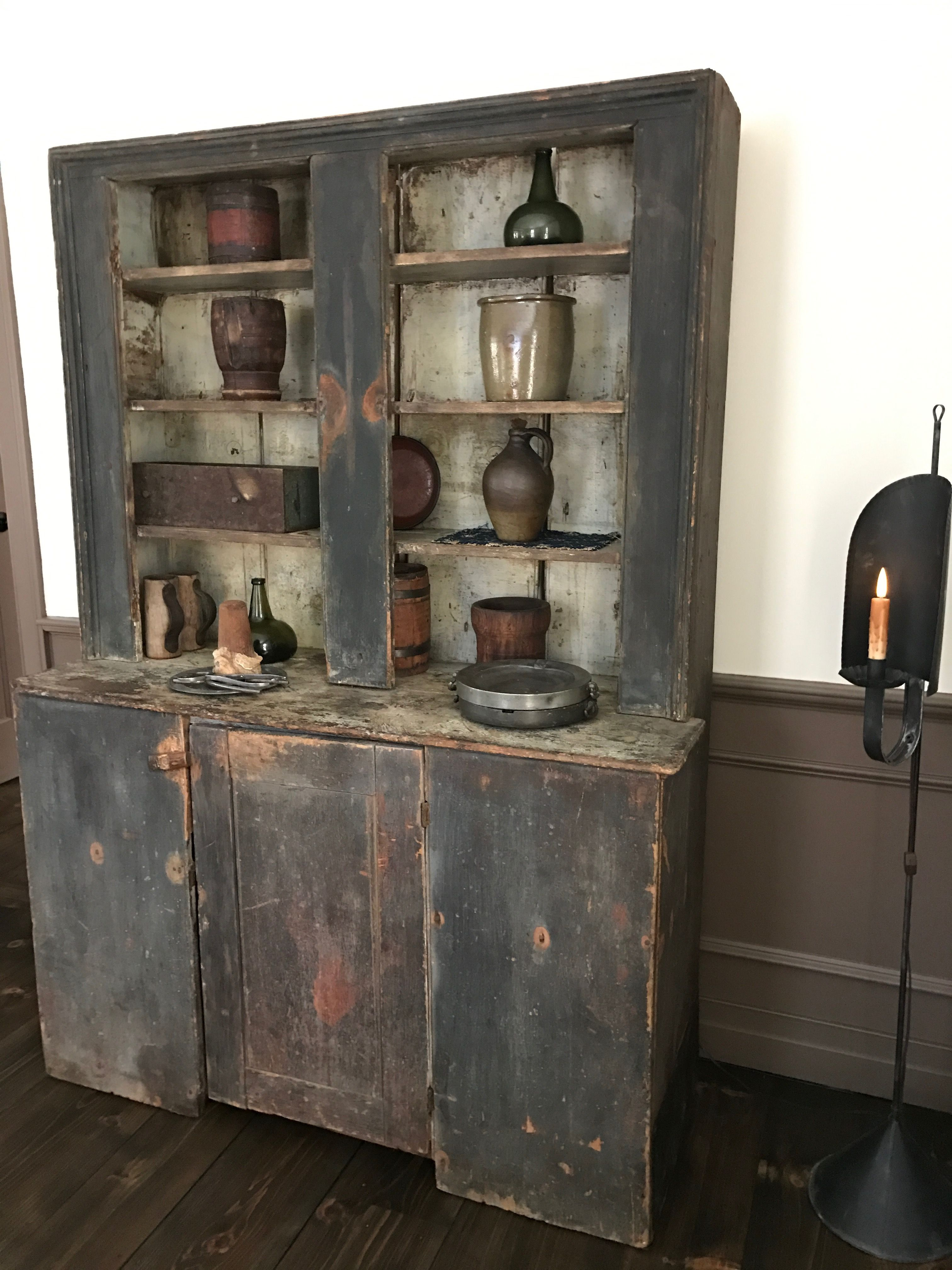 Pin By Janice Elderkin On Cupboards Primitive Cabinets Primitive Furniture Primitive Homes