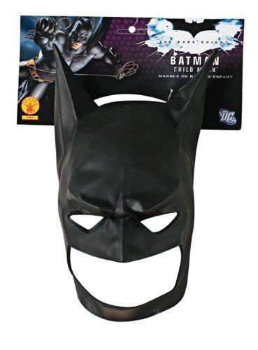 Comic Costume New Years Mask Disguise Ball Pretend READY TO SHIP Black Mask hero Masquerade Party Cosplay Halloween