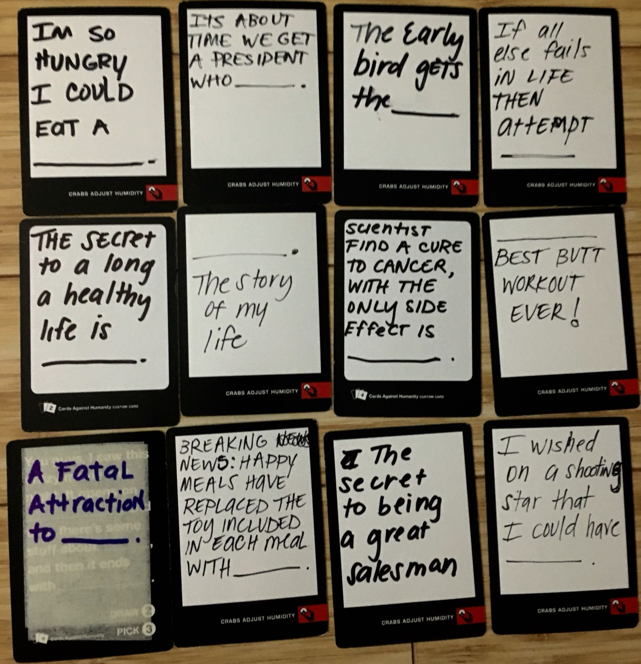 awesome ideas for black blank cards in cards of humanity or diy your