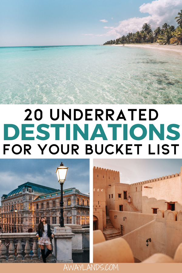 Top 20 Underrated Travel Destinations for your 2020 Travel Bucket List | Away Lands -   18 travel destinations Africa adventure ideas