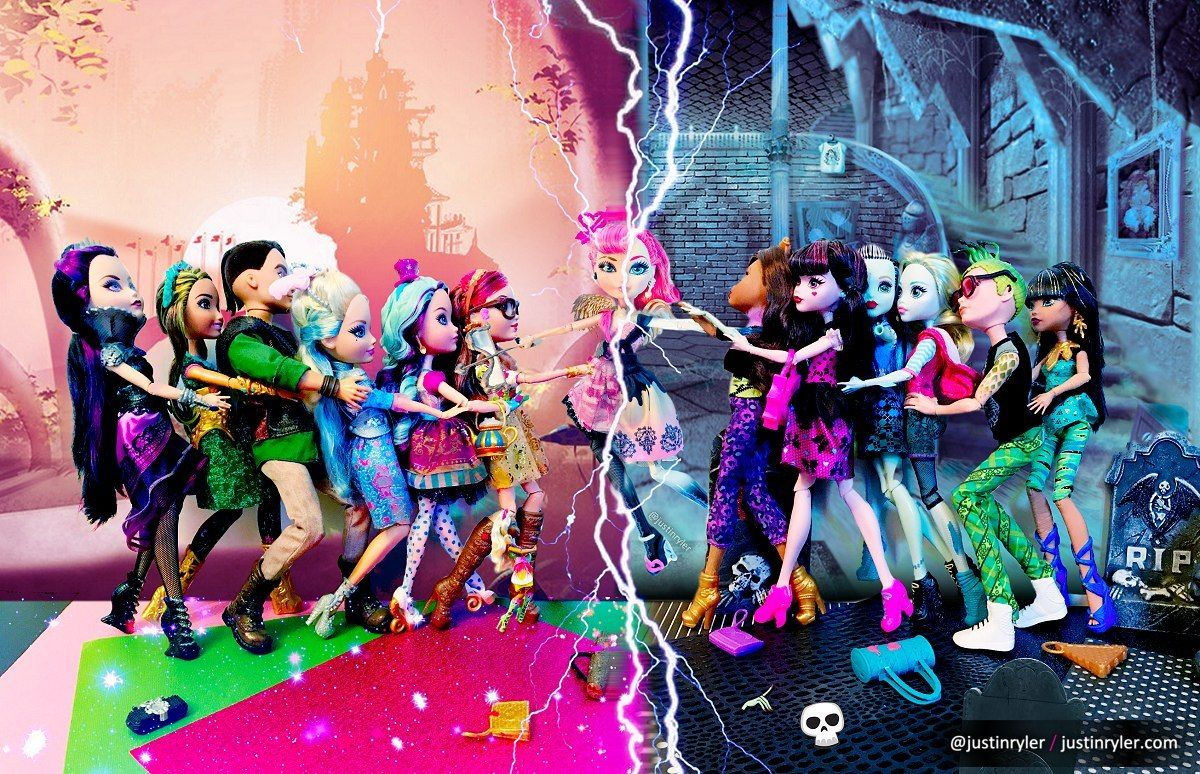 Luc Elementix When Cupid Is Torn Between Two Worlds Picture By New Monster High Dolls Monster High Art Monster High Dolls