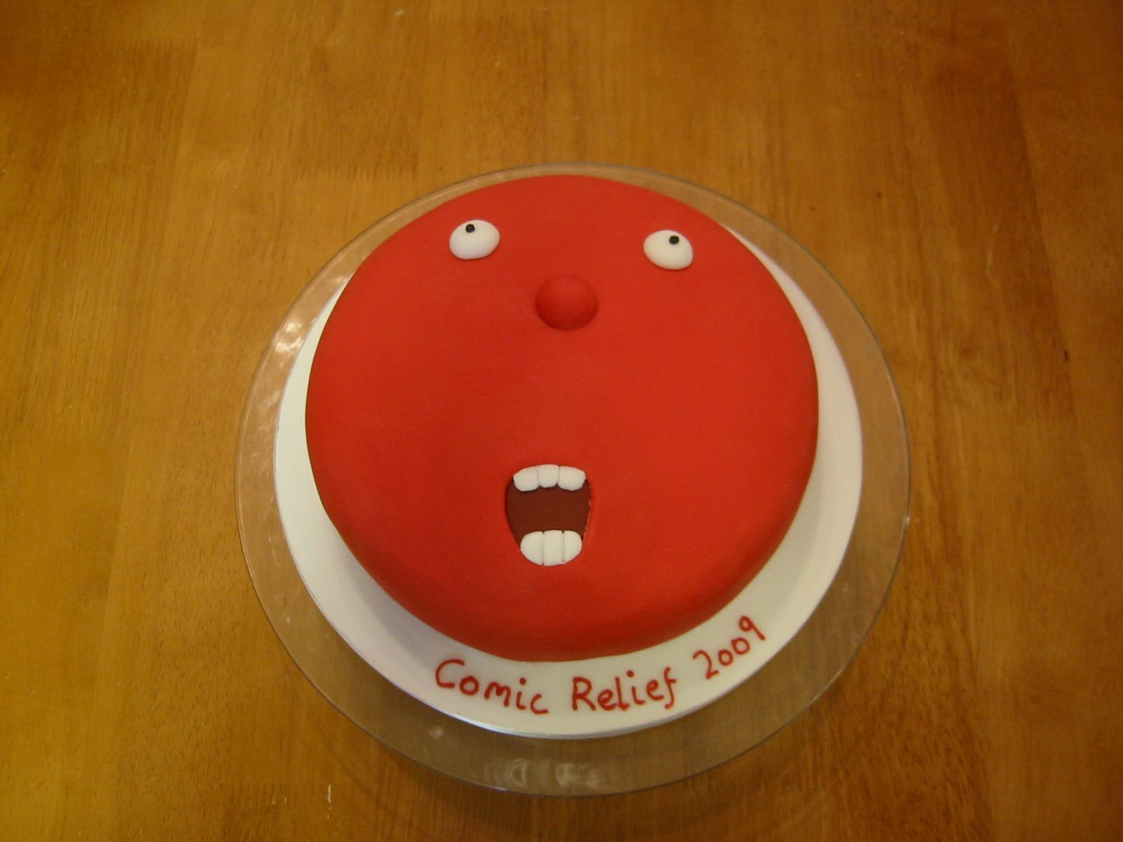 Cake Designs For Red Nose Day : 1st Red Nose Cake Cakes Pinterest