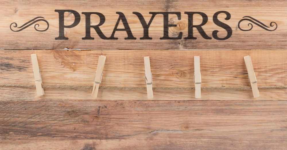 Prayers Memo Board And Clips 20 X 10 1 2 Sunday School Decorations House Warming Gifts Prayers