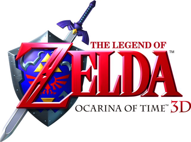 The Legend Of Zelda Ocarina Of Time 3d Logo Png Arte Da Lua Convite