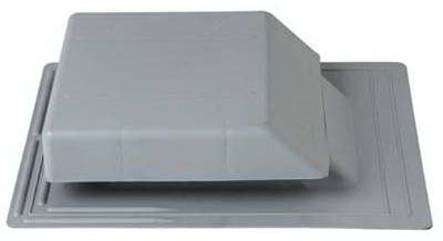Construction Metals Prv50lg Af 50 Gray Plastic Roof Vent Check Out This Great Product With Images Roof Vents Roof Metal