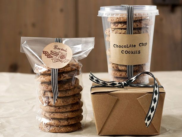 rezept f r chocolate chip cookies excellent packaging pinterest keksverpackungen. Black Bedroom Furniture Sets. Home Design Ideas
