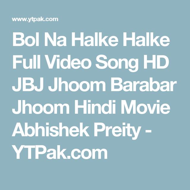 Jhoom Barabar Jhoom 1 movie in hindi free download