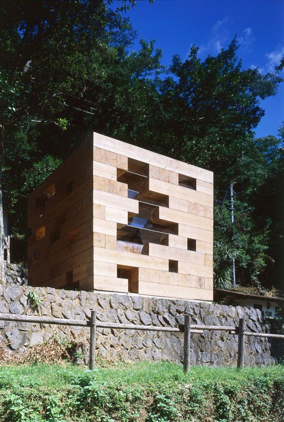 Ja u remarkable japanese timber structures final for Small wooden structures