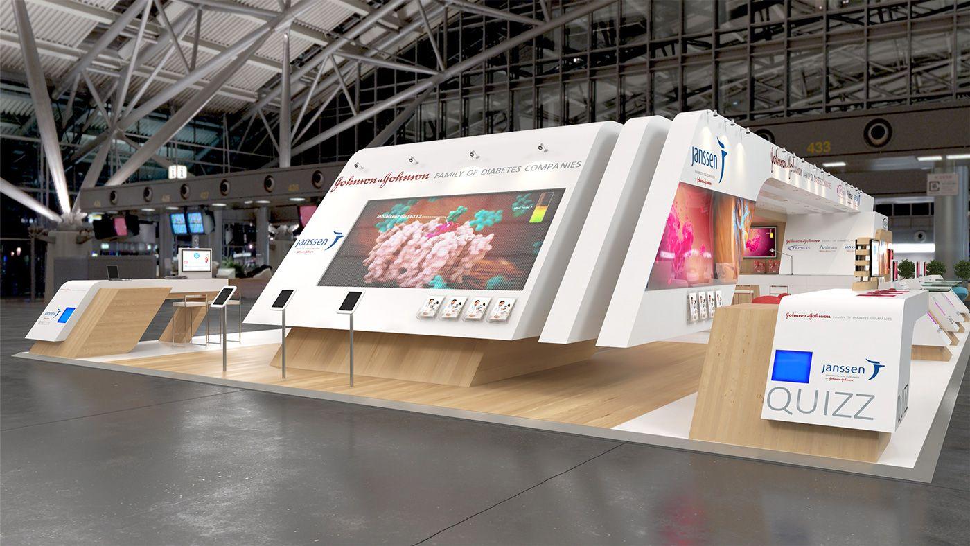 Exhibition Booth Behance : Janssen sfd on behance architecture exhibits