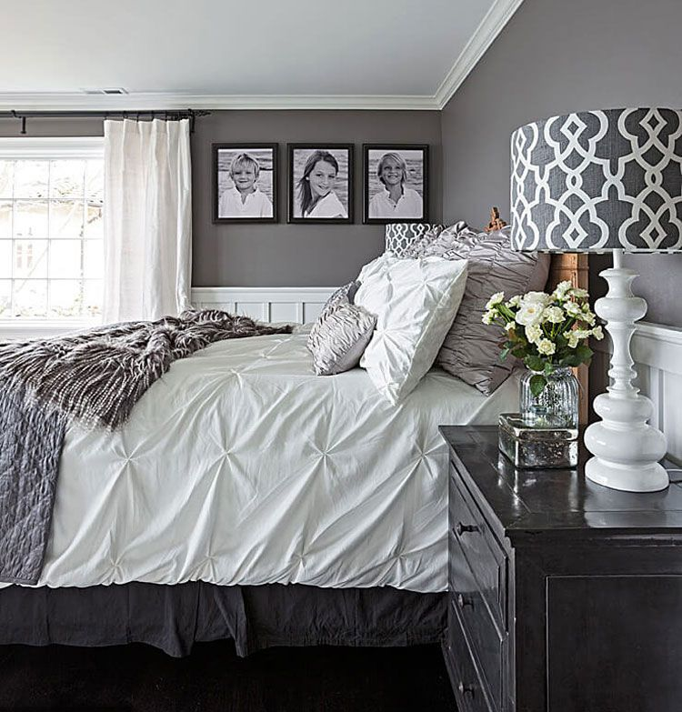 37 Best Grey Bedroom Ideas: Beautiful Decor and Designs ...