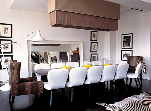 Not Completely My Style But Love The Captain Chairs And Long Captivating Captain Chairs For Dining Room Inspiration Design