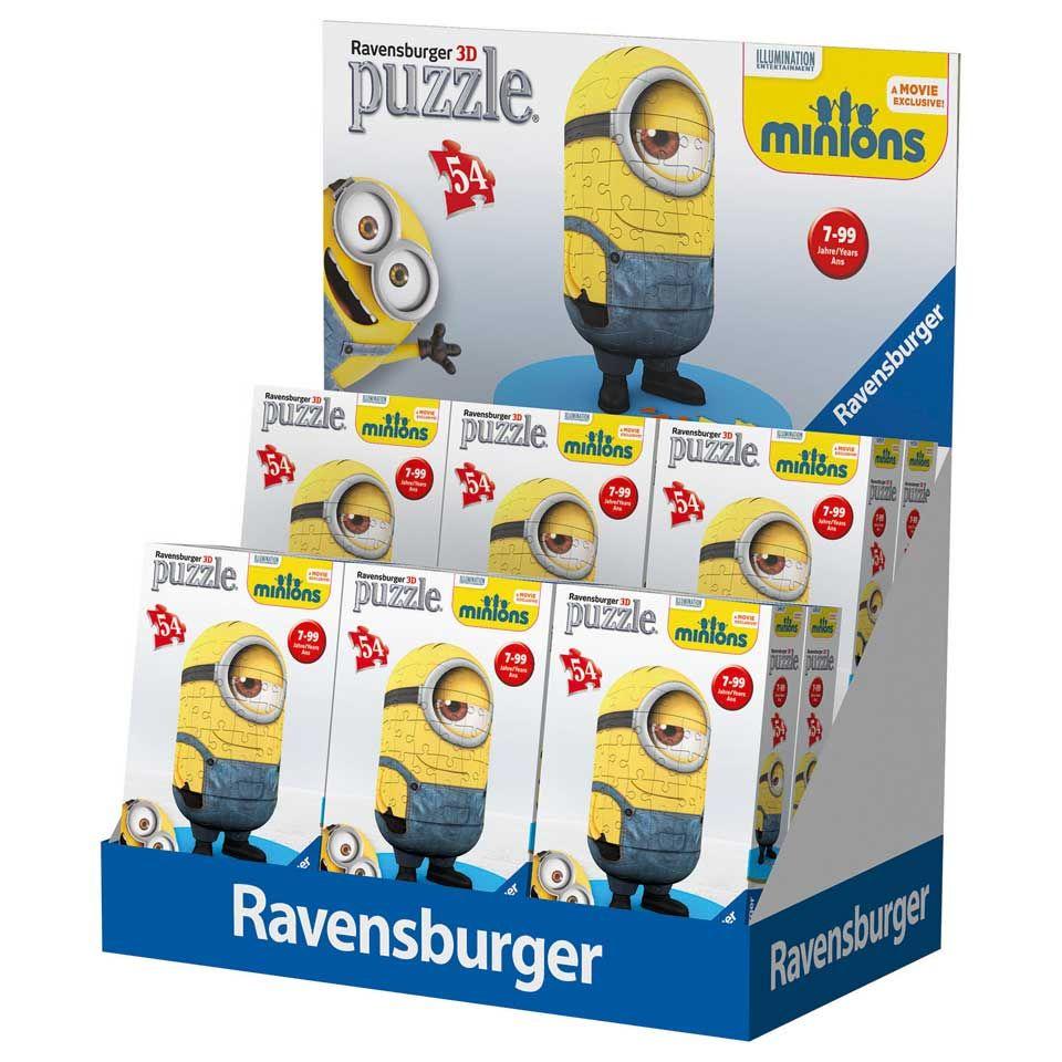 Ravensburger 3d Puzzel Minions 54 Stukjes Bart Smit