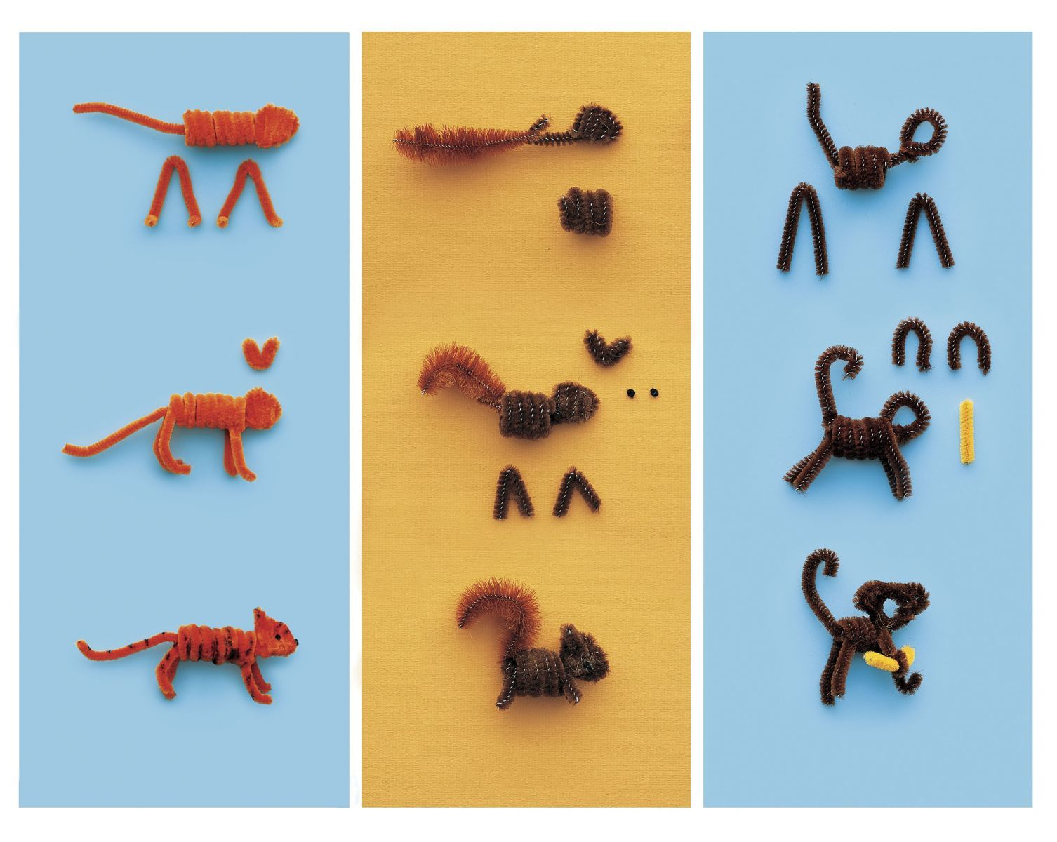 Uncategorized Easy Pipe Cleaner Animals pipe cleaner pals explore craft and easy pals