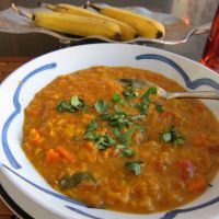 Spicy Lentil Carrot Soup