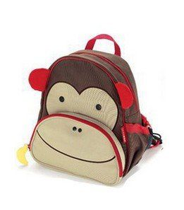 9fcacd208d00 MM-BABY® Fashion Cute Animals Canvas School Backpack For Kids Monkey Super  cute animal
