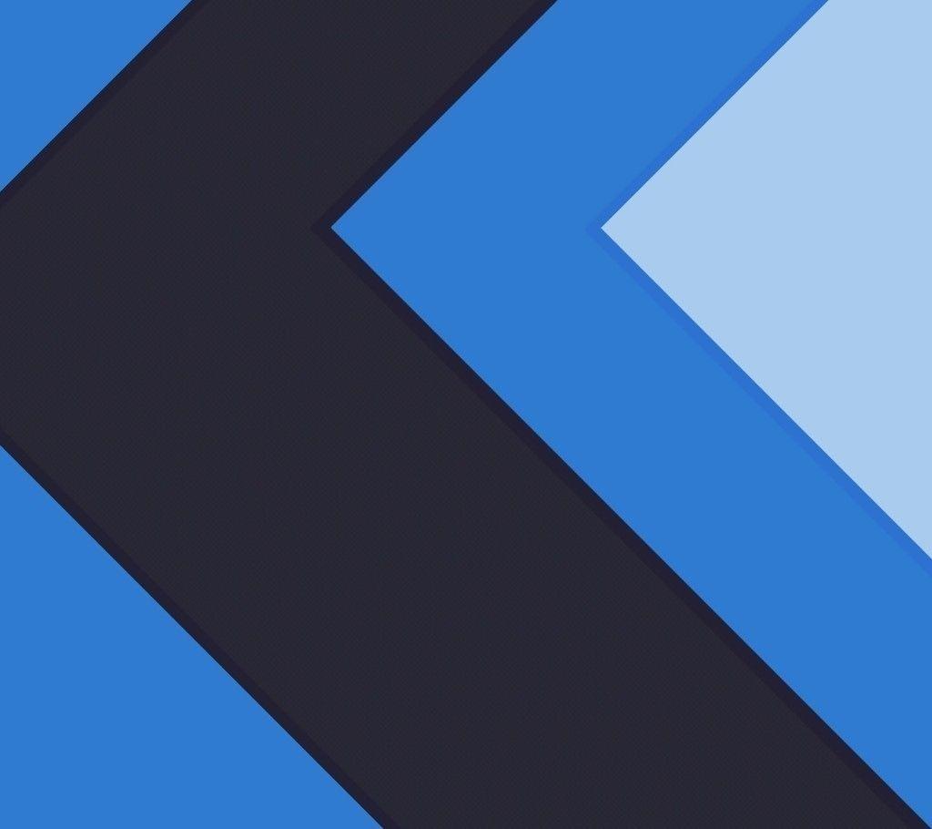 Blue Shapes Pattern Material Design Wallpaper Material Design