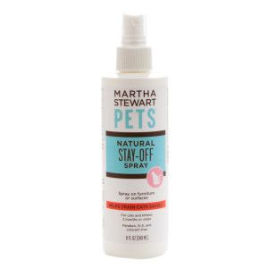 Martha Stewart Pets Natural Stay Off Cat Spray Repellents