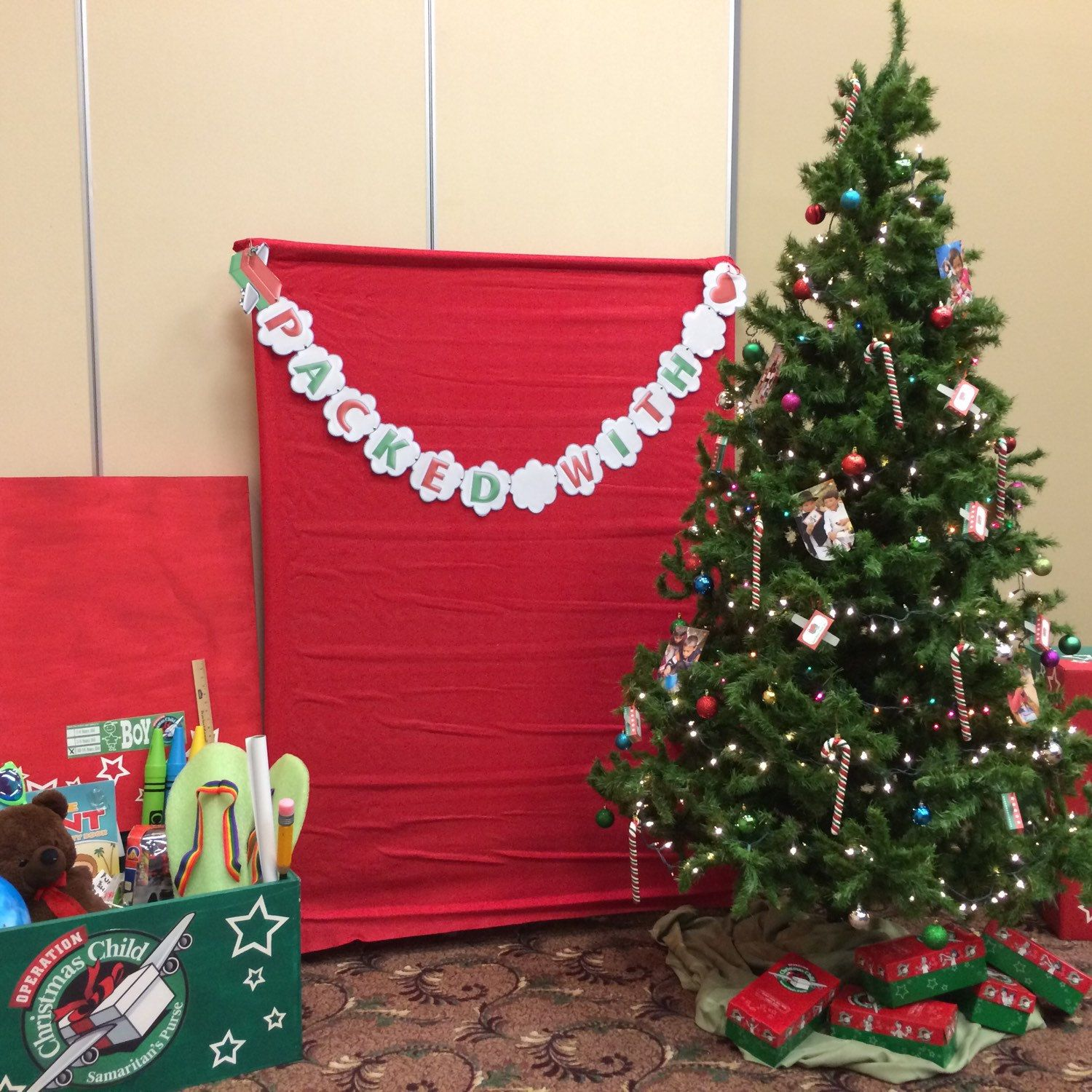 It's In The Bag Christmas Charity Drive Donate To